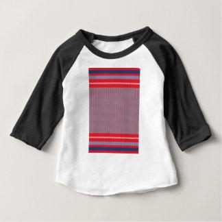 Camiseta De Bebé Fondo que hace punto rayado 2