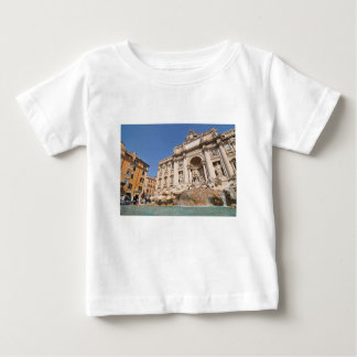 Camiseta De Bebé Fontana di Trevi en Roma, Italia