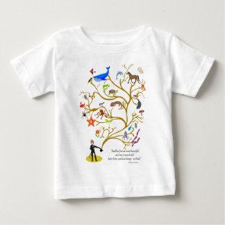 Camiseta De Bebé Forma sin fin
