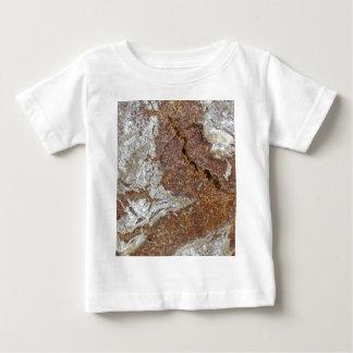 Camiseta De Bebé Foto macra de la superficie del pan marrón de Ger