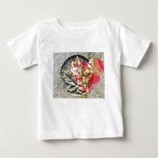 Camiseta De Bebé Fractal afiligranado de Canadá del amor