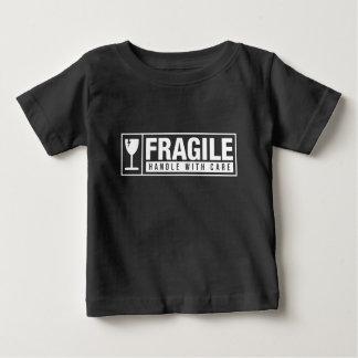 Camiseta De Bebé Frágil dirija con cuidado