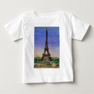 Camiseta De Bebé Francia-París-Eiffel-torre-ropa