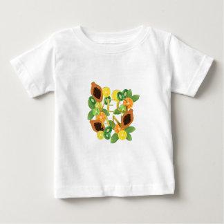 Camiseta De Bebé Fruta del vegano