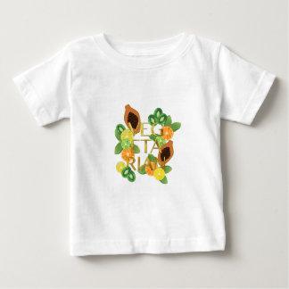 Camiseta De Bebé Fruta vegetariana