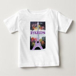 Camiseta De Bebé Fuegos artificiales de París