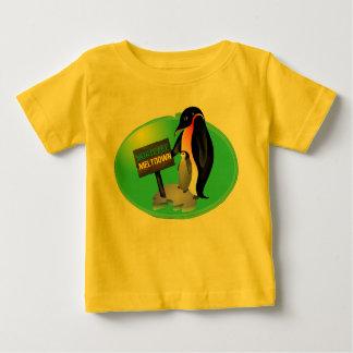Camiseta De Bebé Fusión de la hipoteca del pingüino