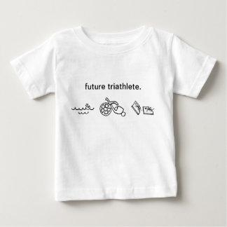 Camiseta De Bebé futuro triathlete.