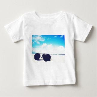 Camiseta De Bebé Gafas de sol de la playa