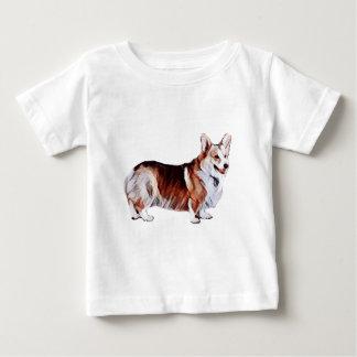 Camiseta De Bebé Galés tricolor Corgi.PNG