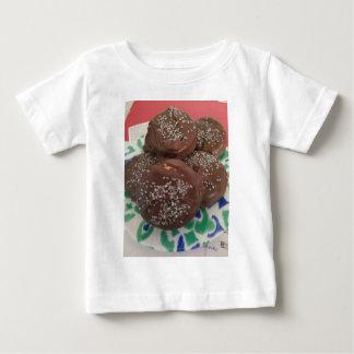 Camiseta De Bebé Galletas hechas en casa del chocolate