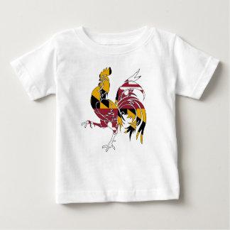 Camiseta De Bebé Gallo de Maryland