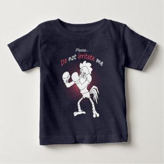 Camiseta De Bebé Gallo en guantes