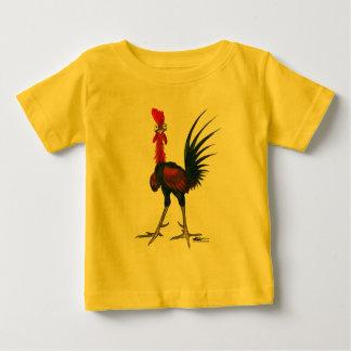 Camiseta De Bebé Gallo loco