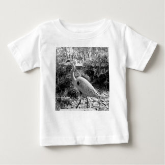 Camiseta De Bebé garza