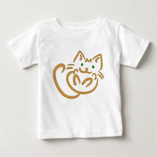 Camiseta De Bebé Gatito juguetón
