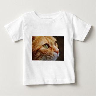 Camiseta De Bebé Gato blanco anaranjado