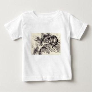 Camiseta De Bebé Gato de Cheshire