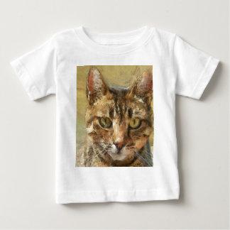 Camiseta De Bebé Gato de Tabby