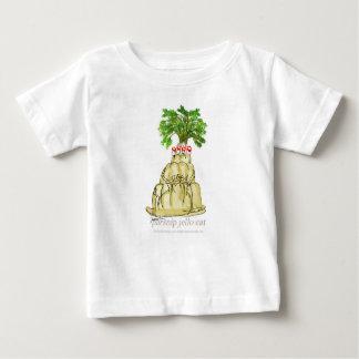 Camiseta De Bebé gato del jello de la pastinaca de los fernandes