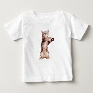 Camiseta De Bebé Gato derecho - gatito - mascota - felino -