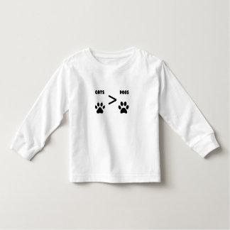 Camiseta De Bebé Gatos o perros