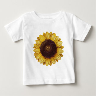 Camiseta De Bebé girasol