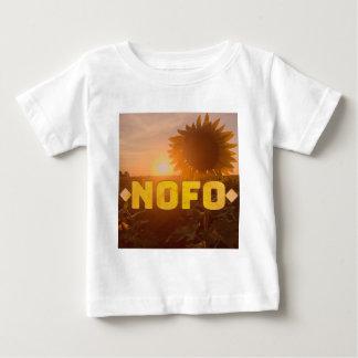 Camiseta De Bebé girasoles del nofo de North Fork