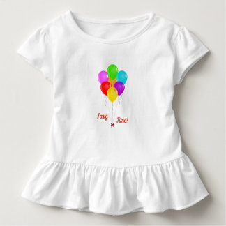 Camiseta De Bebé Globos del fiesta