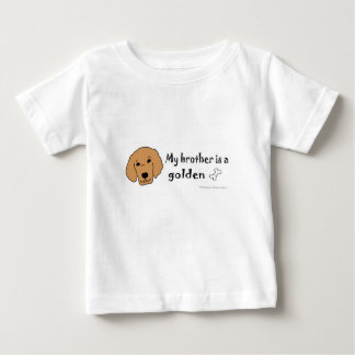 Camiseta De Bebé golden retriever