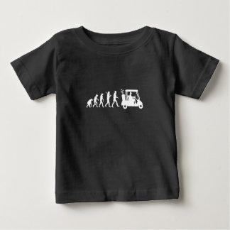 Camiseta De Bebé golf de la evolución