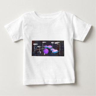 Camiseta De Bebé Golpe del tambor