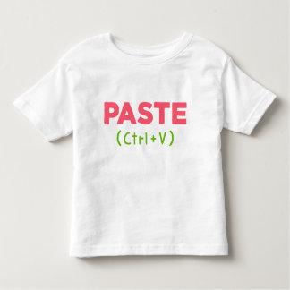 Camiseta De Bebé GOMA (Ctrl+V) Copia y goma