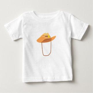 Camiseta De Bebé Gorra de vaquero con la atadura del dibujo de la