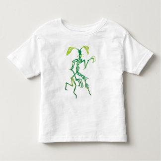 Camiseta De Bebé Gráfico de la tipografía de Bowtruckle
