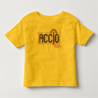 Camiseta De Bebé Gráfico rojo del encanto de Accio del art déco