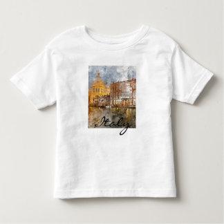 Camiseta De Bebé Gran Canal romántico de Venecia Italia