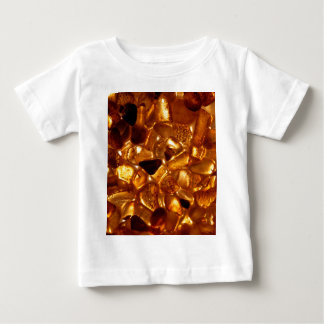 Camiseta De Bebé Granos ambarinos con la iluminación del contraluz