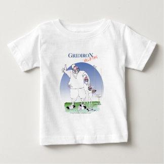 Camiseta De Bebé Gridiron - salón de la fama, fernandes tony