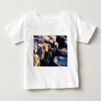 Camiseta De Bebé grieta profunda de la roca