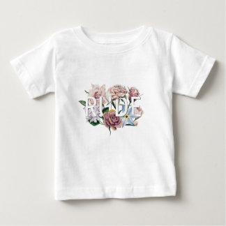 Camiseta De Bebé Grosero floral