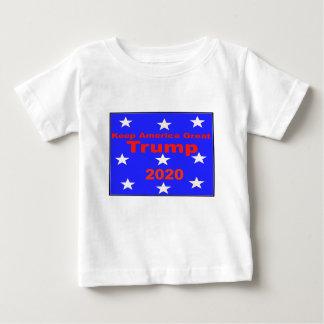 Camiseta De Bebé Guarde el lema político del triunfo 2020 de
