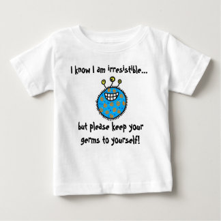 Camiseta De Bebé ¡Guarde sus gérmenes a sí mismo!