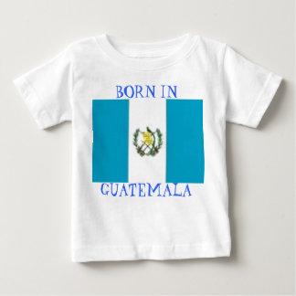 Camiseta De Bebé guat, LLEVADO EN GUATEMALA