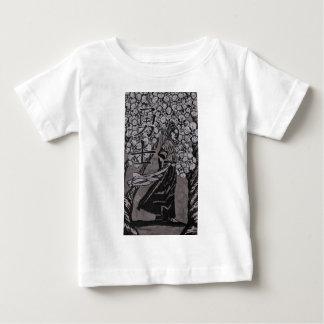 Camiseta De Bebé Guerrero de la flor de cerezo por Carretero L