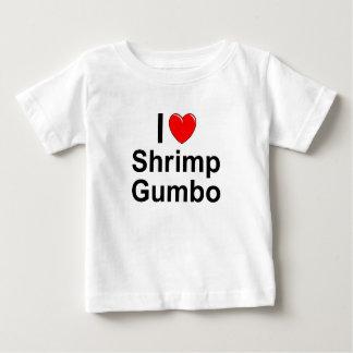 Camiseta De Bebé Gumbo del camarón