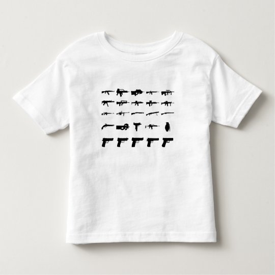 Camiseta De Bebé Guns