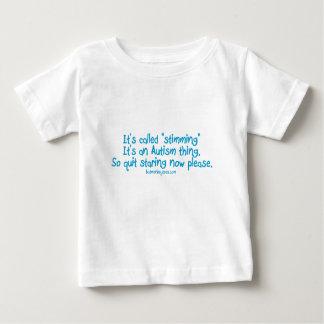 "Camiseta De Bebé Ha llamado ""stimming """