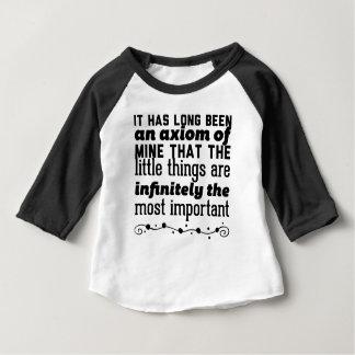 Camiseta De Bebé Ha sido de largo un axioma los míos que el poco