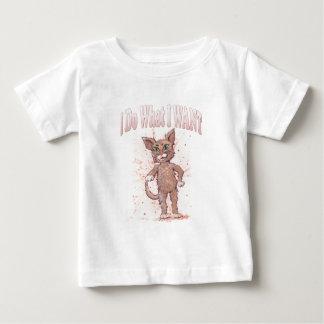 Camiseta De Bebé Hago lo que QUIERO